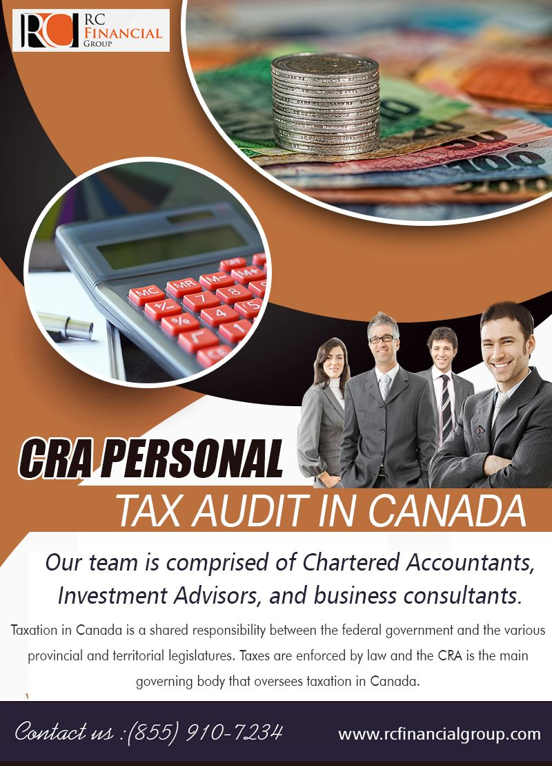 Get audited by Canada Revenue Agency Tax accountant