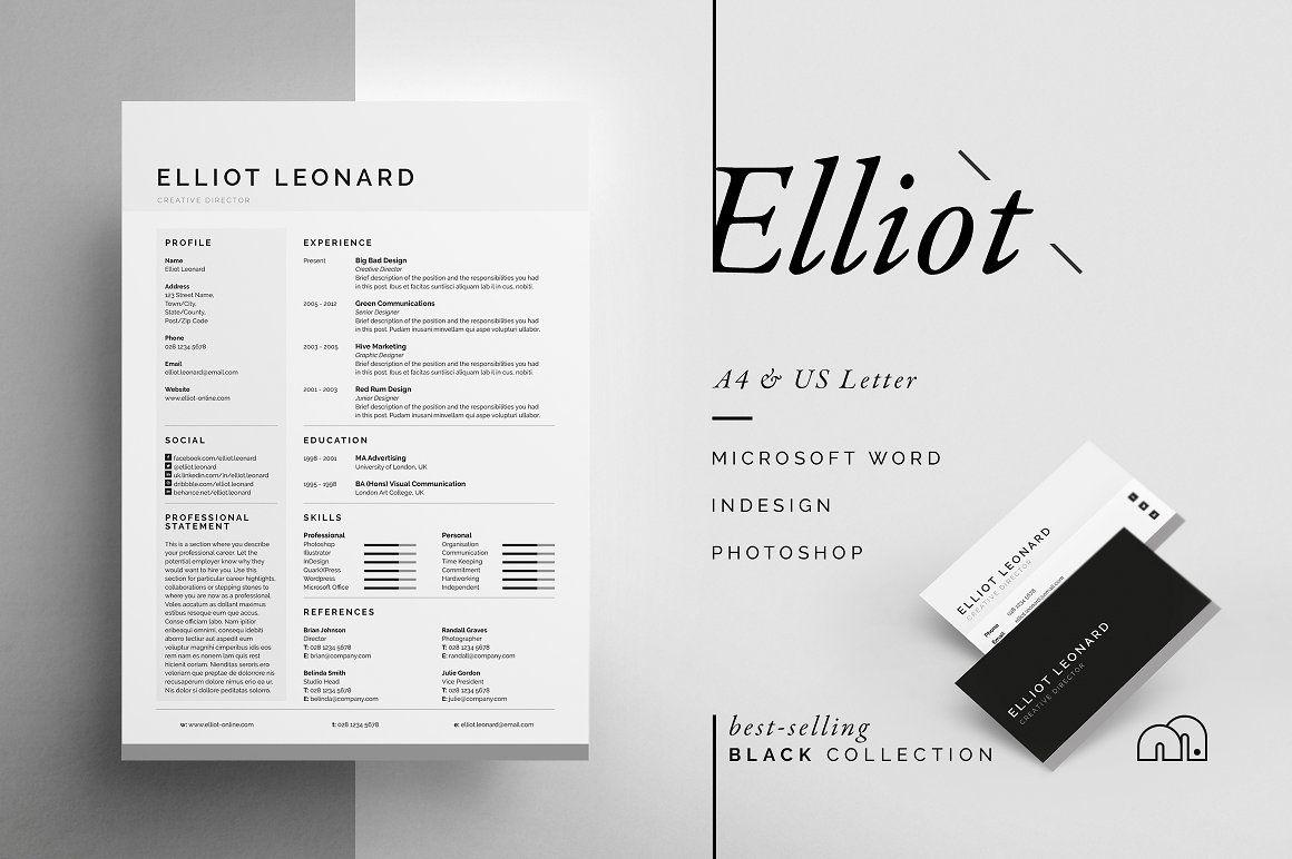 Resume/CV - Elliot