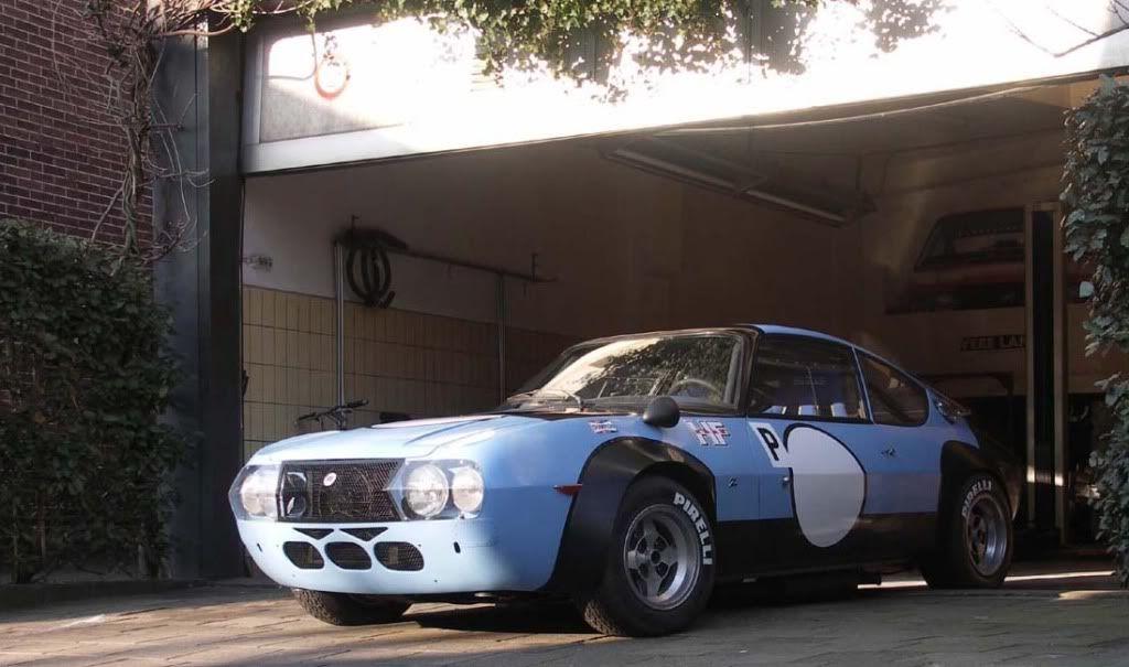 Lancia Fulvia Zagato Competizione Voiture Vintage Auto Voiture