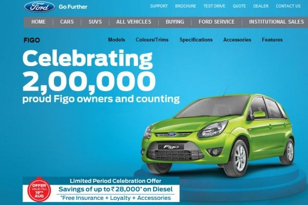 With A Total Of 200 000 Ford Figo Owners Ford India Will Be