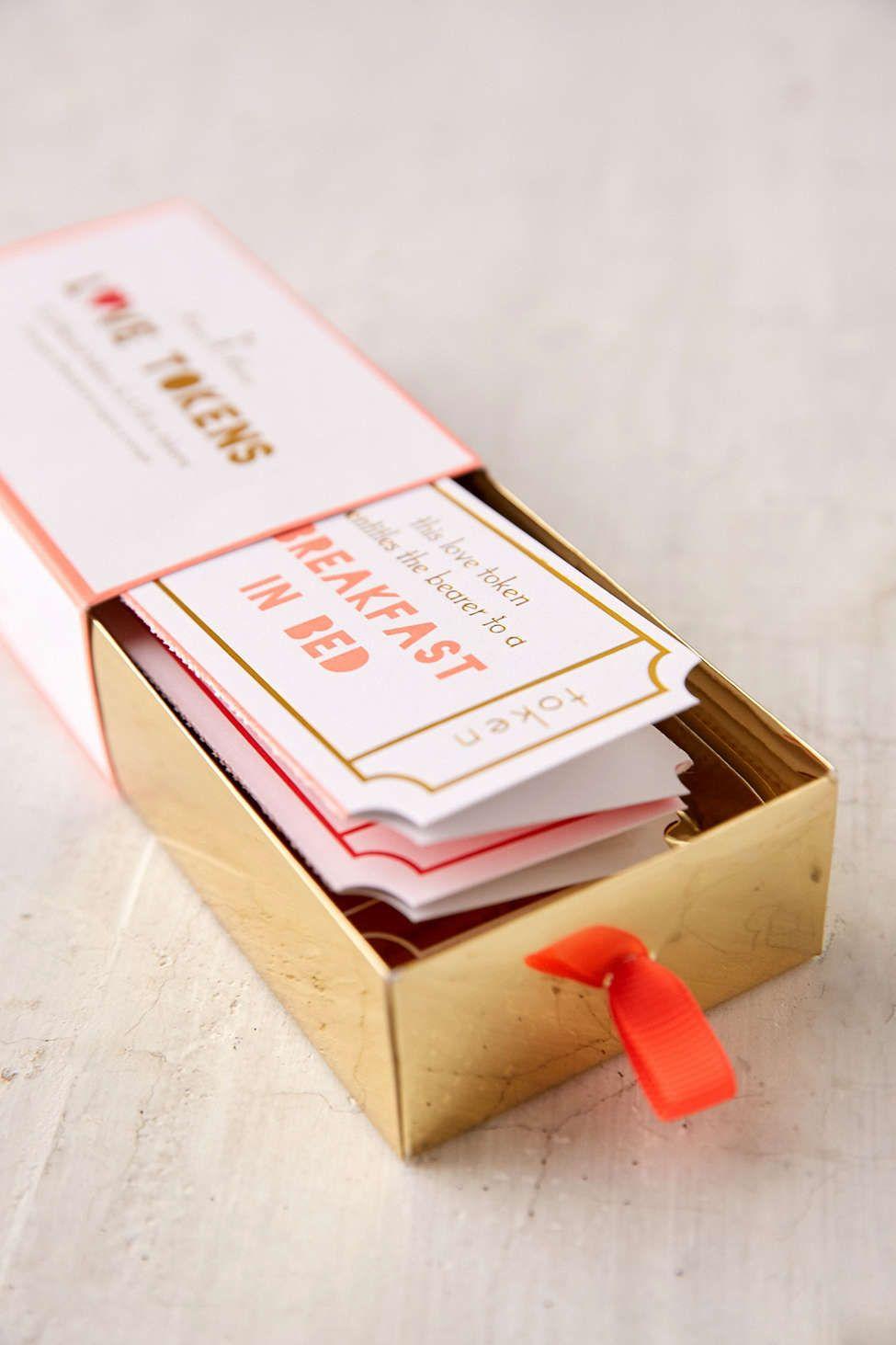 meri meri paper love tokens  boyfriend crafts diy gifts