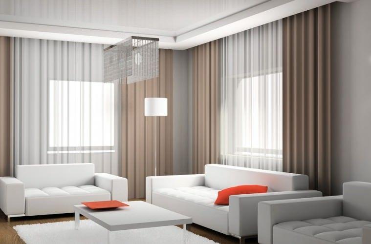 Quer saber como escolher cortinas para sala de estar? Veja as 5 - ideas de cortinas para sala