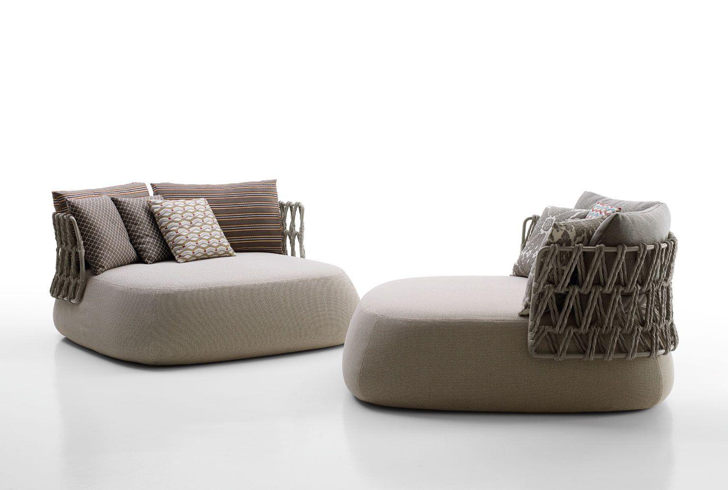 Sofas FATSOFA OUTDOOR Collection BB Italia Outdoor Design