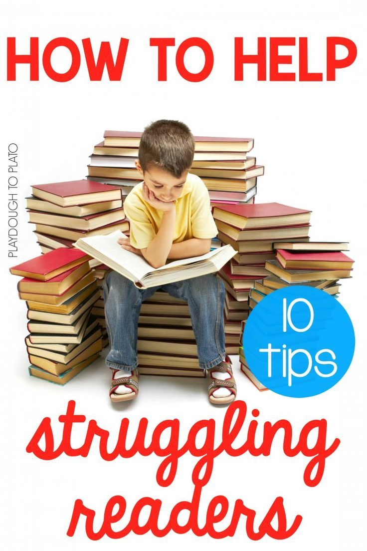 10 Ways To Help Struggling Readers Learning Reading Pinterest