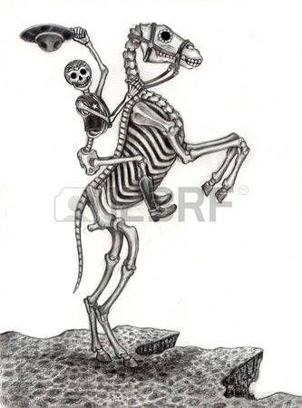 Day Of The Death Dia De Los Muertos Stock Photos Images, Royalty ...