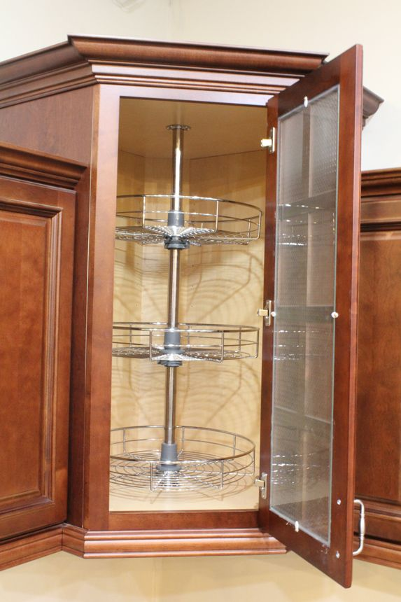 Dowell 18 Dia 40 H Lazy Susan Corner Base Wall Kitchen From Cabinet