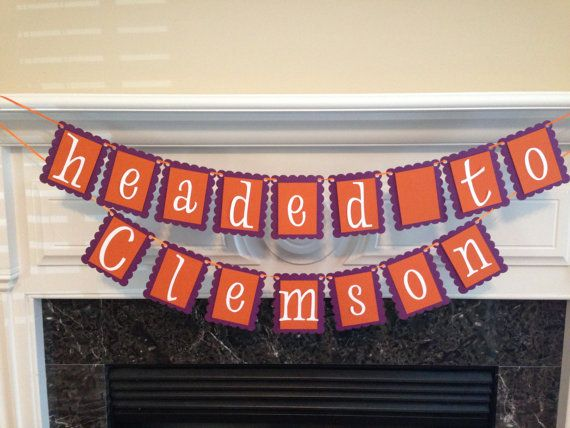Headed to College Graduation Banner by CraftyLittlePiggie on Etsy