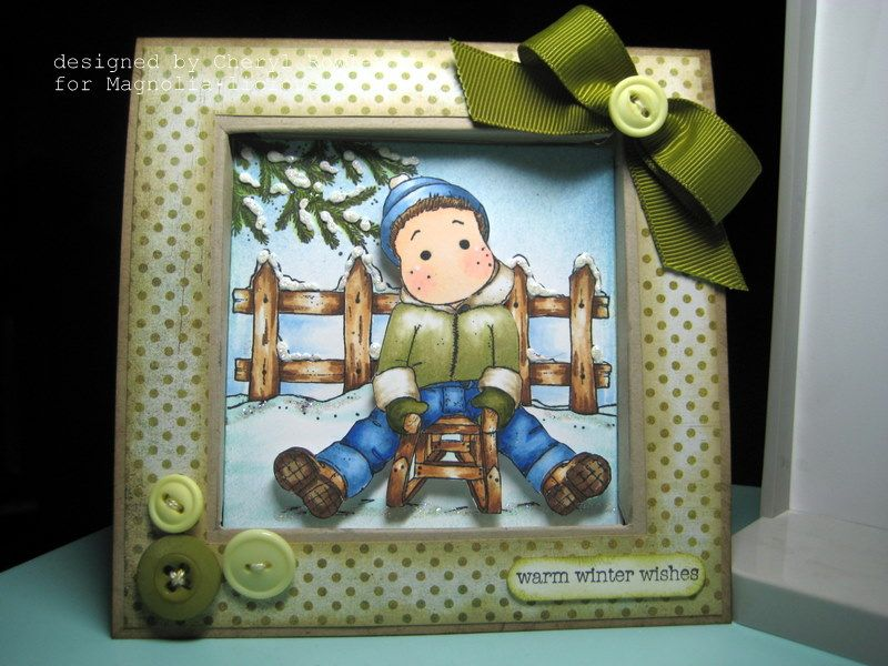 Edwins been framed by cheryl l rowley cards and paper