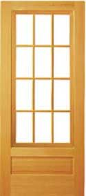 Builders 3 4 View Raised Panel 12 Lite Storm Door Wood Screen Door Storm Door Raised Panel