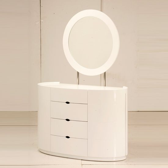 vanity dressing table with drawers. Lorna White Gloss 4 Drawer Dressing Table  Pinterest