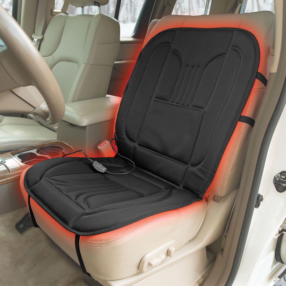 The Best Heated Car Seat Pad Hammacher Schlemmer