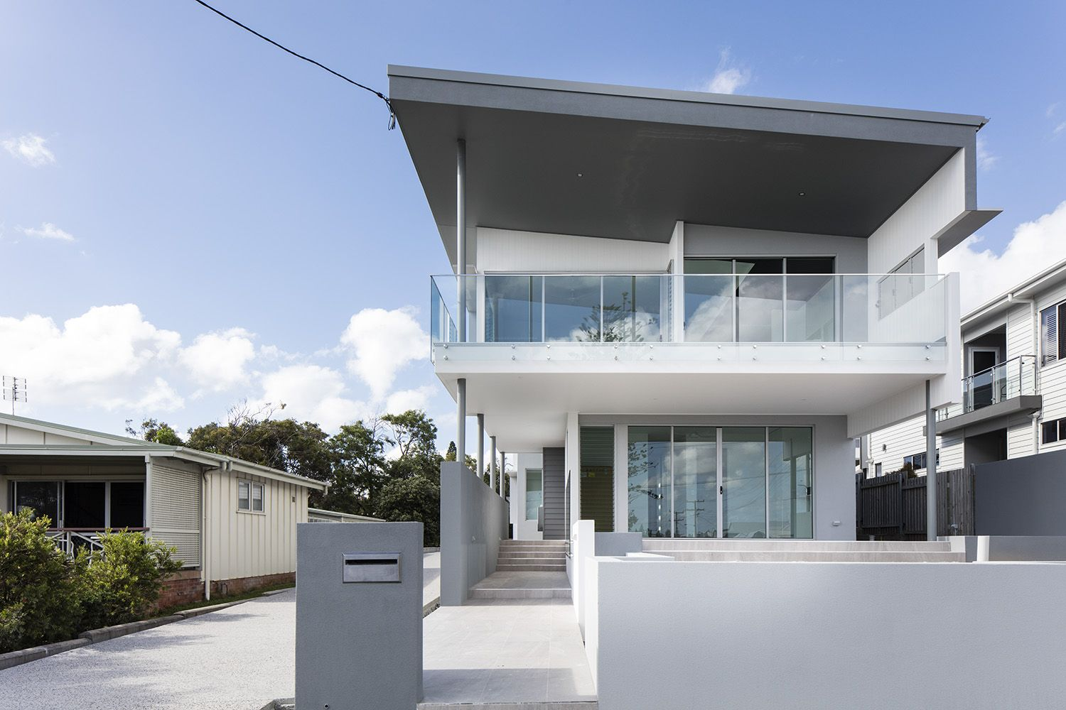 Modern home design by immackulate designer homes the kings beach project located on sunshine coast qld australia also rh pinterest