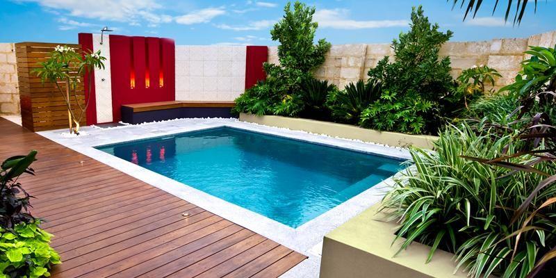 Platinum plunge leisure pools australia gardens for Pool design australia