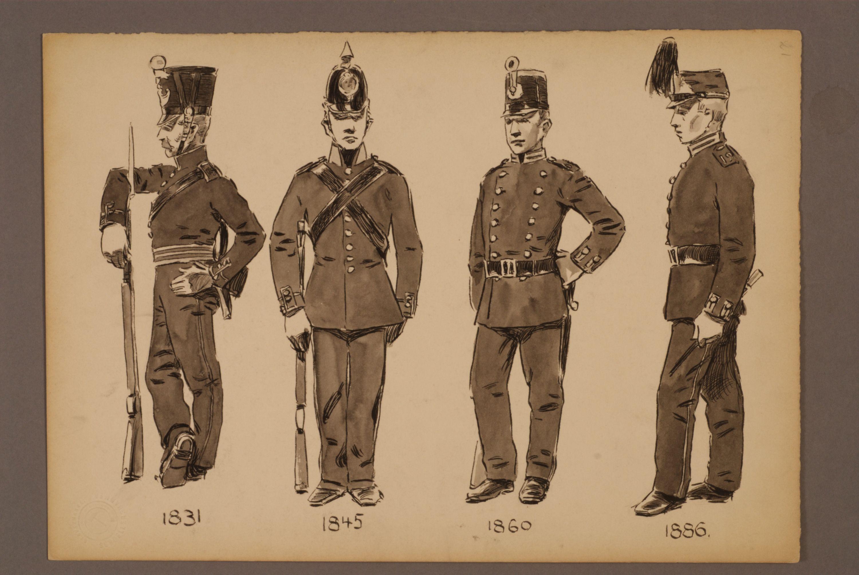 Norrbottens and Västerbottens Rangers 1833-1886 by Einar von Strokirch