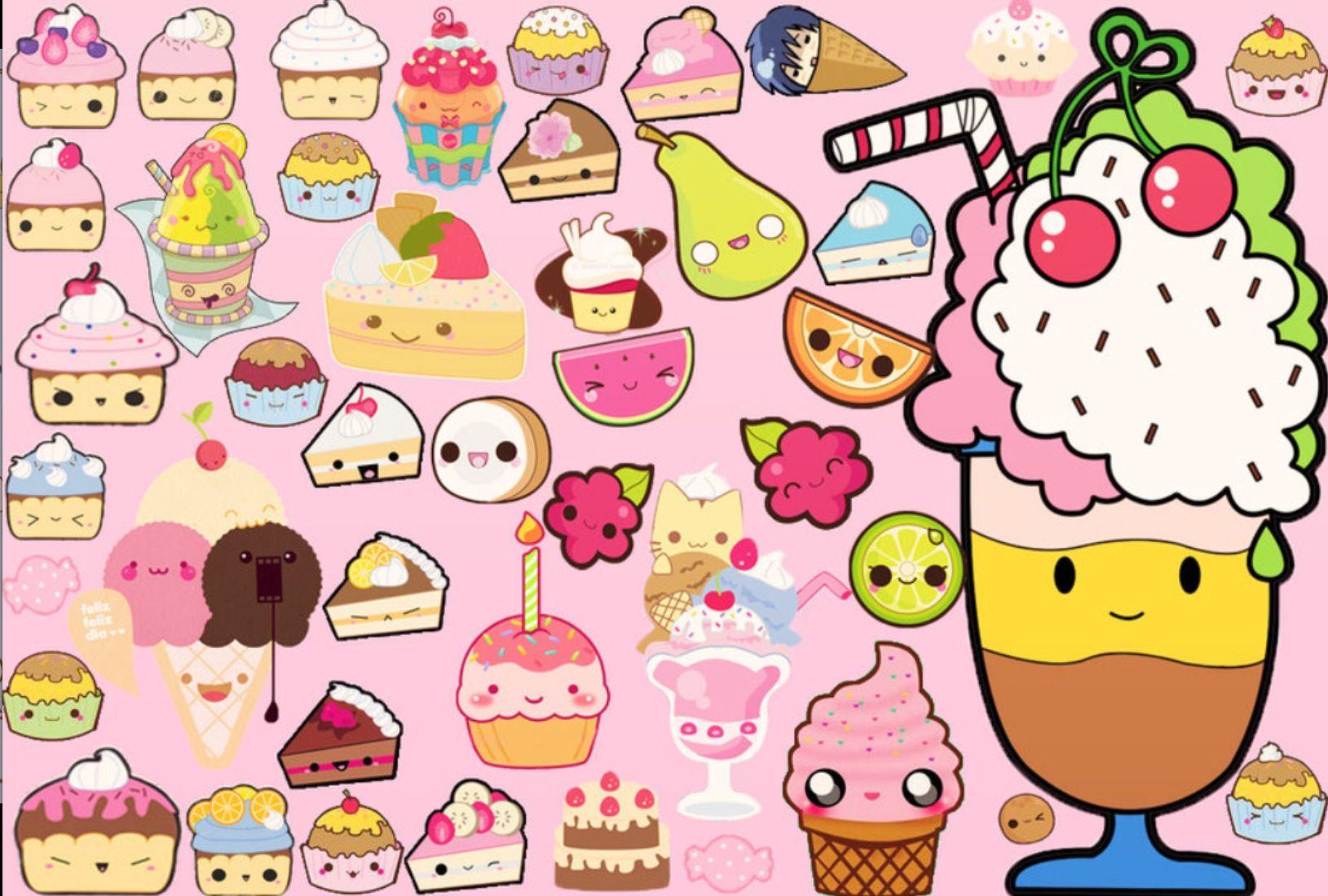 wallpaper food kawaii - photo #2