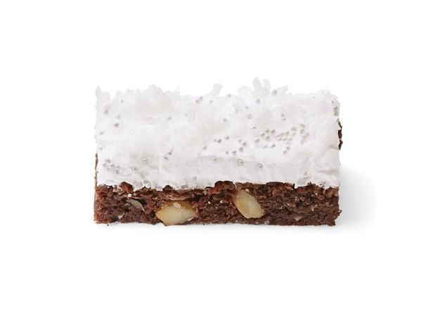 Snow Day Coconut Brownies