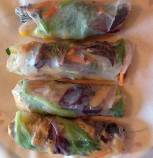How to Make Awesome Spring Rolls - this total taste explosion is gluten free