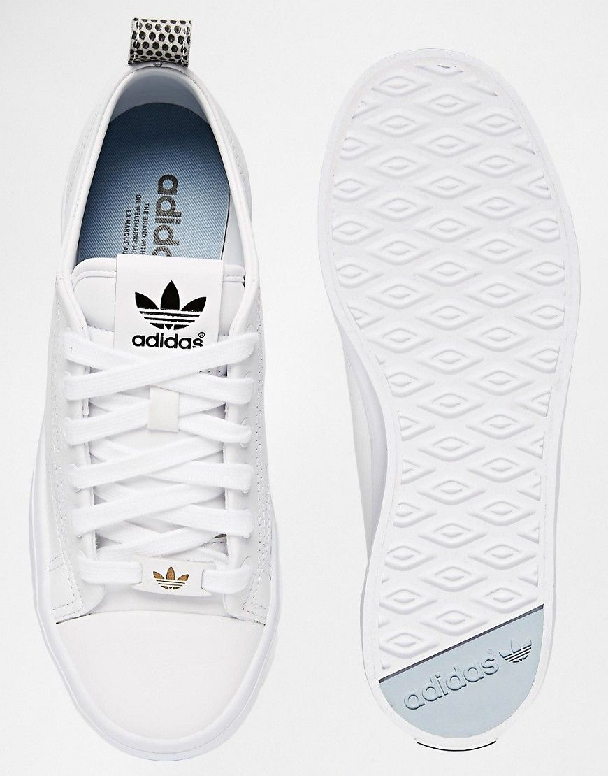 15202d6d1 adidas Originals Honey 2.0 White Sneakers