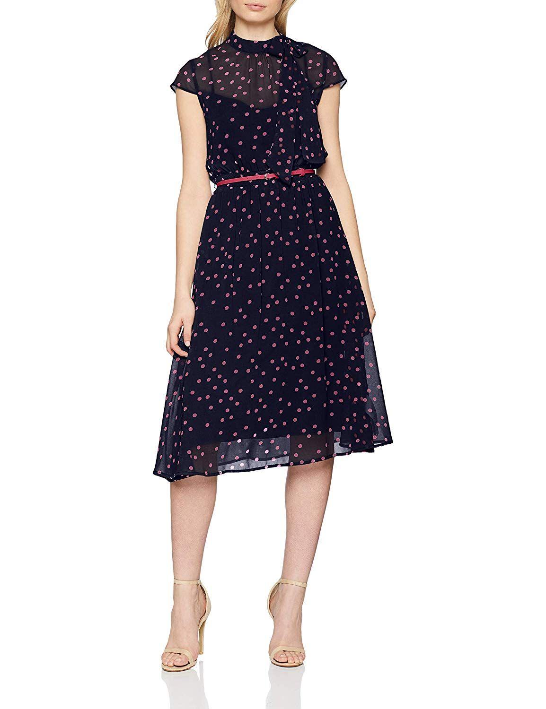 Esprit Collection Damen Kleid Mode Amazon De Bekleidung Mode