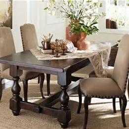 Discontinued Pottery Barn Dining Tables Dining Room Contemporary
