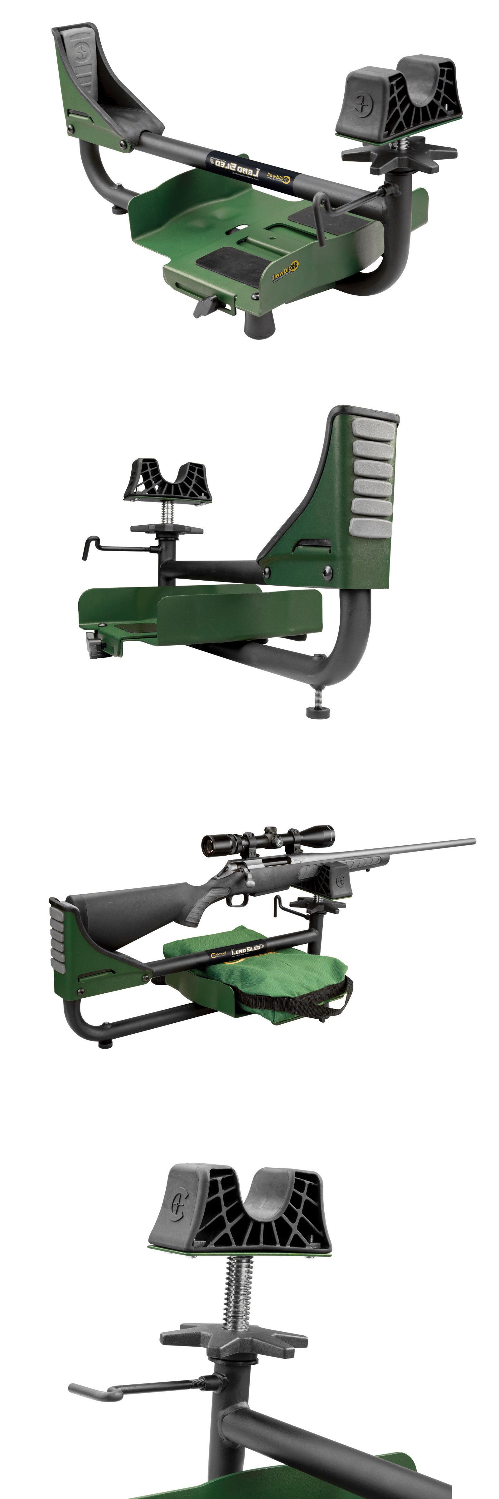 Caldwell Lead Sled 3 Adjustable Recoil Reducing Rifle Shooting Rest 820310