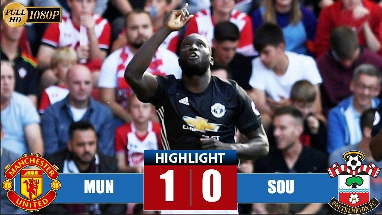 Manchester United Vs Southampton 1 0 Highlights Goal Last Match Https Ift Tt 2imbvg6 Wedding Weddingdre Manchester Manchester United India Fashion Week