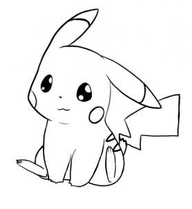 How To Draw Pikachu Pokemon By Mstormw Dibujos Faciles De