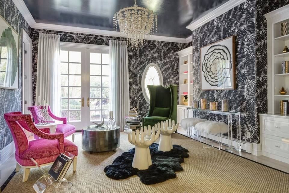 The Young Aver Very Talented Krista Wostbrock Of Wostbrock Home Designed The Morning Room At T Living Room And Dining Room Design Interior Design Studio Design