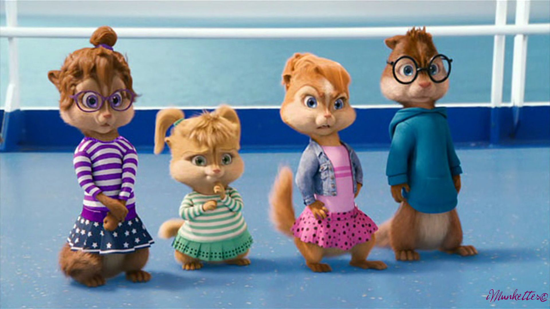 Alvinnn And The Chipmunks Brittany And Alvin alvin & the chipmunks: chipwrecked- reaction to alvin's puns