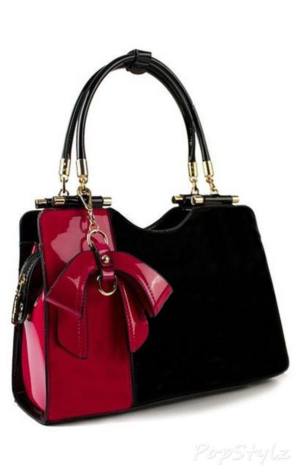 Scarleton Elegant Satchel Handbag Bag Hand Black And Gold Las Purse Online Ping Ad