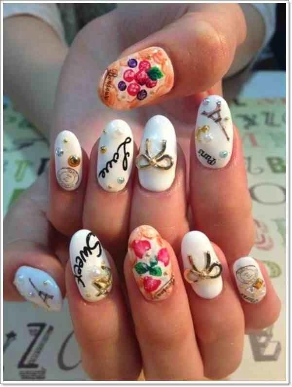 Amazing Awesome Japanese Nail Designs imgdf609db69a106e338 | nail ...