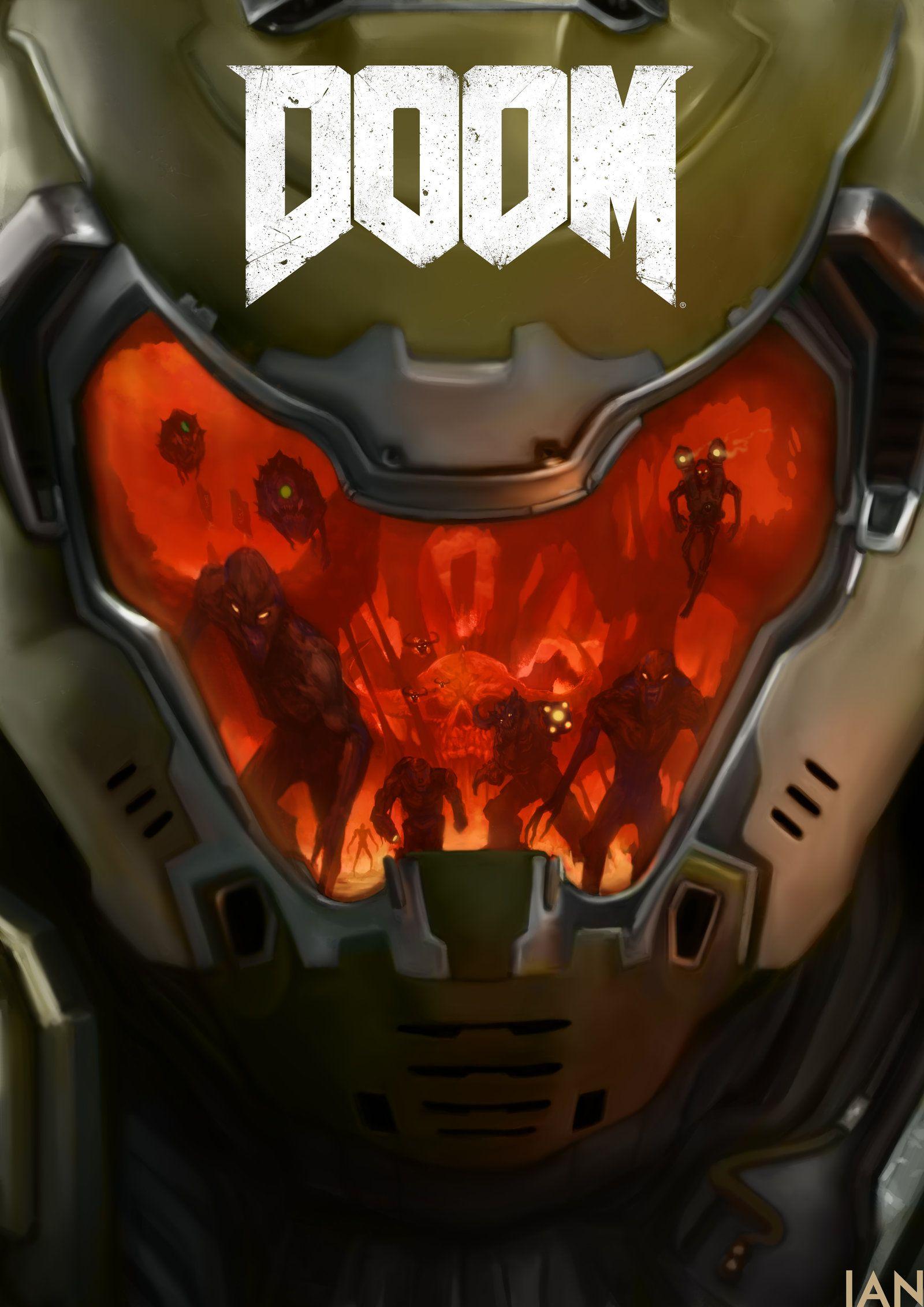 DOOM by WretchedIAN on DeviantArt  Video Games  Doom
