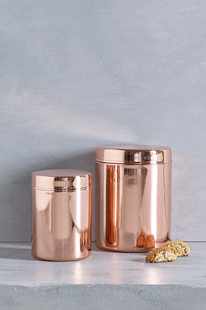 Next Rose Gold Effect Storage Tin Gold Products In 2019
