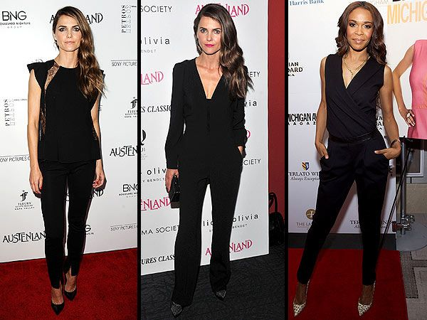 Apparently, All It Takes To Be 'Best Dressed' Is a Black Jumpsuit ...