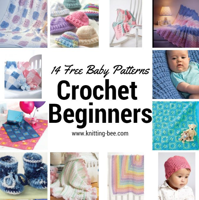 14 Free Baby Crochet Patterns For Beginners Babies Pinterest