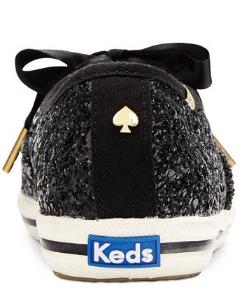 3affbc6fc8bc Keds for kate spade new york Glitter Lace-Up Sneakers