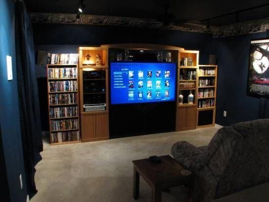 Colorful ideas to hide home theater wires