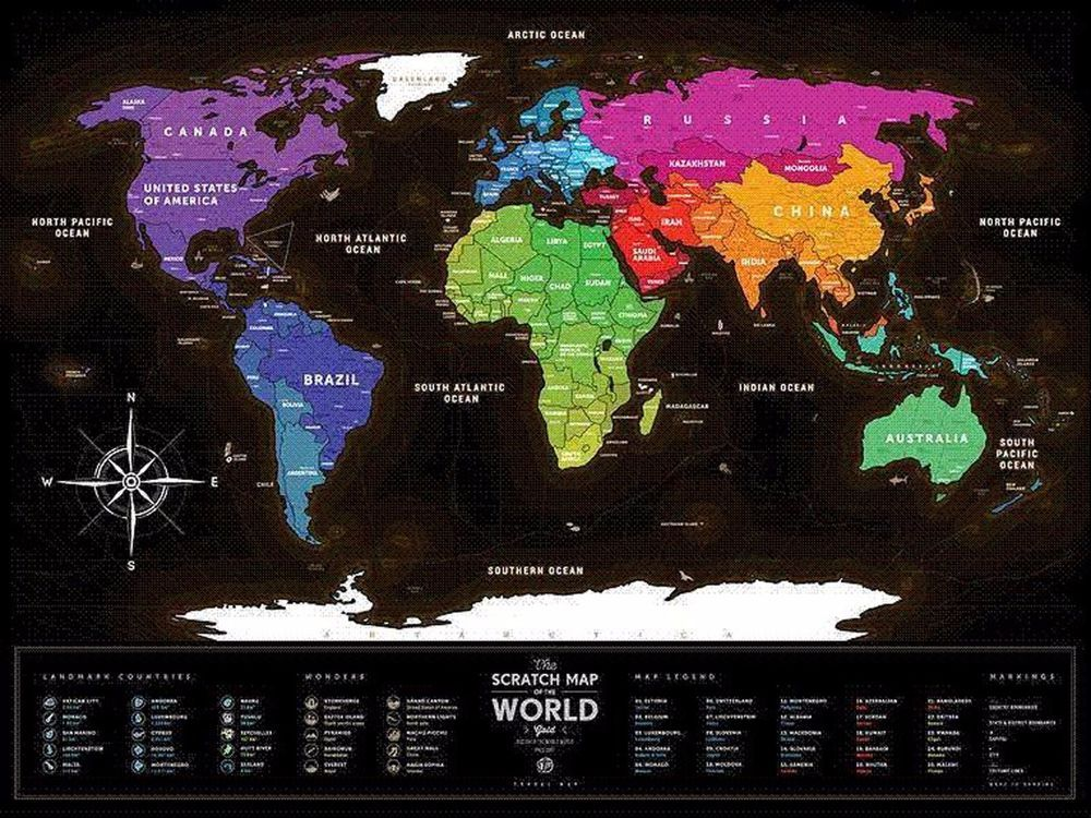 Scratch world map travel map black made in ukraine travel maps scratch world map travel map black made in ukraine gumiabroncs Choice Image