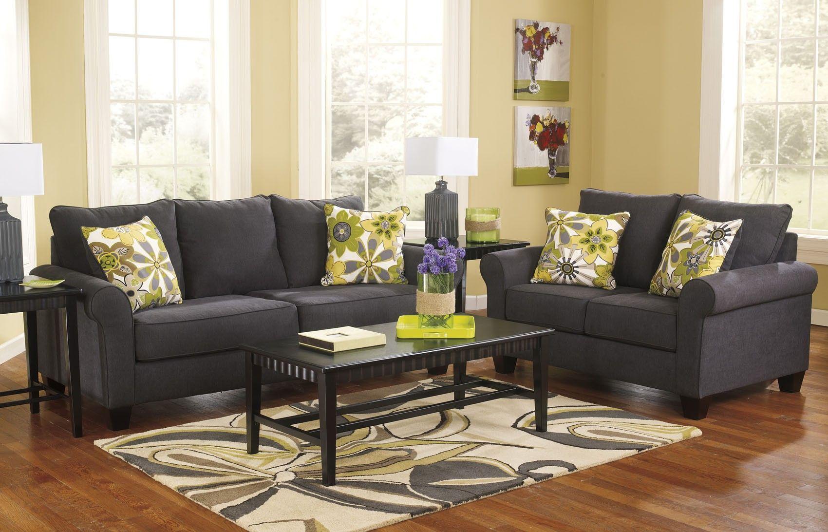 Stupendous Nolana Sofa And Loveseat Set 1650138 Ashley Furniture Home Interior And Landscaping Eliaenasavecom