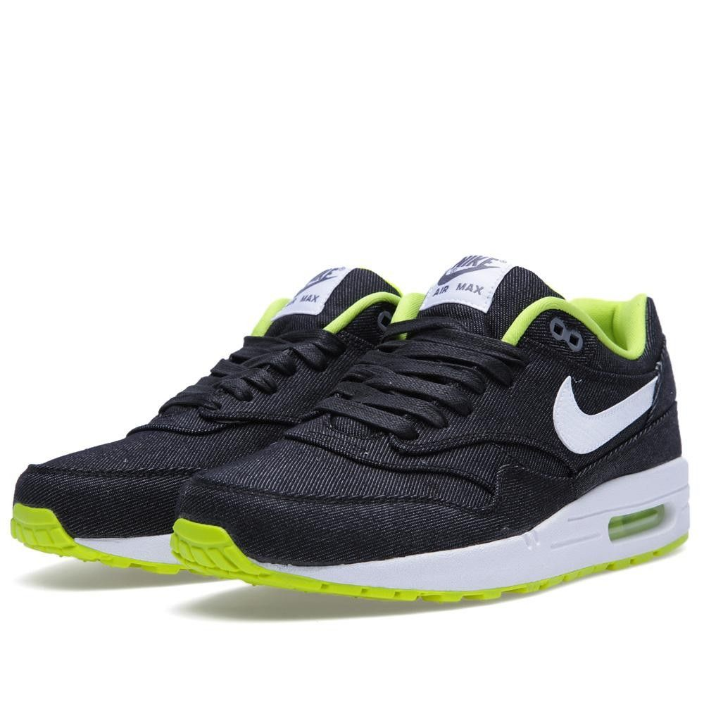 Nike Air Max 1 PRM Denim (Black & White) | Man | Moda hombre