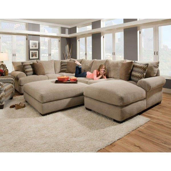 Living Room Sets At Conns bacar living room - raf chaise, armless sofa, laf sofa with corner