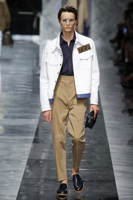 Fendi Spring 2018 Menswear Fashion Show | Men clothing ...