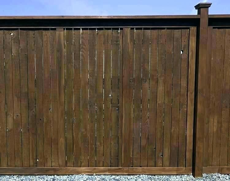 Can You Stain Cedar Stain A Fence With A Pump Sprayer How To In 2020 Cedar Stain Laguna Beach House Fence Stain