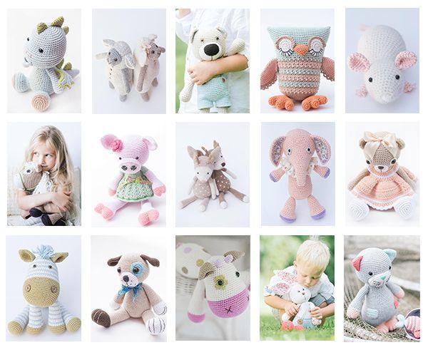 Cuddly Amigurumi Toys: 15 New Crochet Projects by Lilleliis Mari-Liis Lille