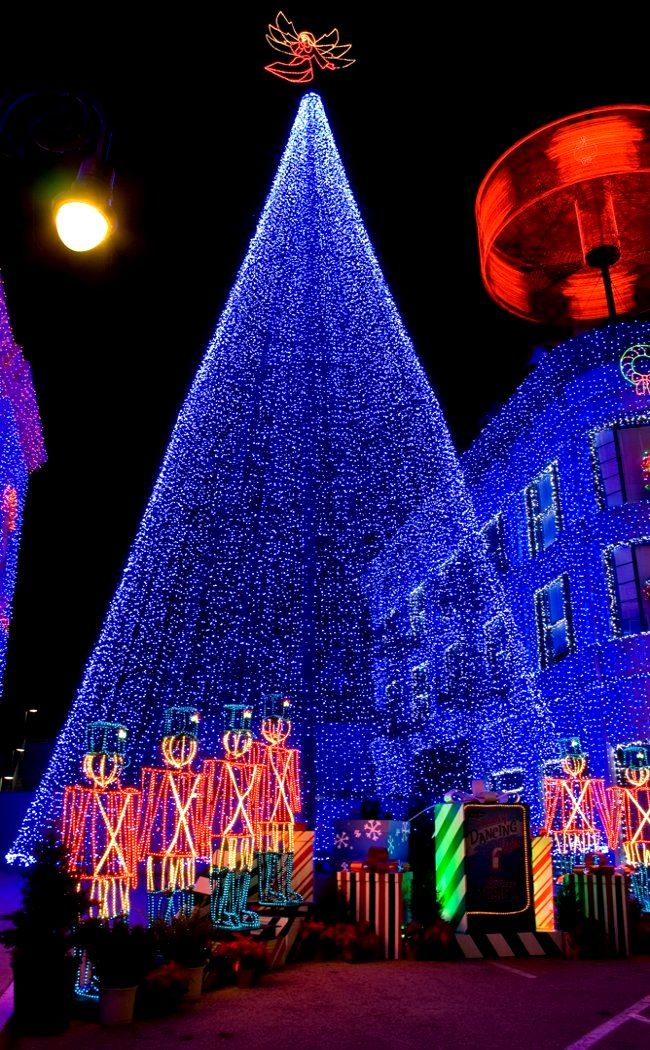 Blue Christmas Hollywood, California (by AreteEirene) Christmas