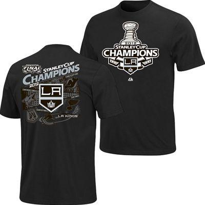 Los Angeles Kings 2012 Stanley Cup Championship Hook Shot T-Shirt  fanzz.com 3ff46d12f
