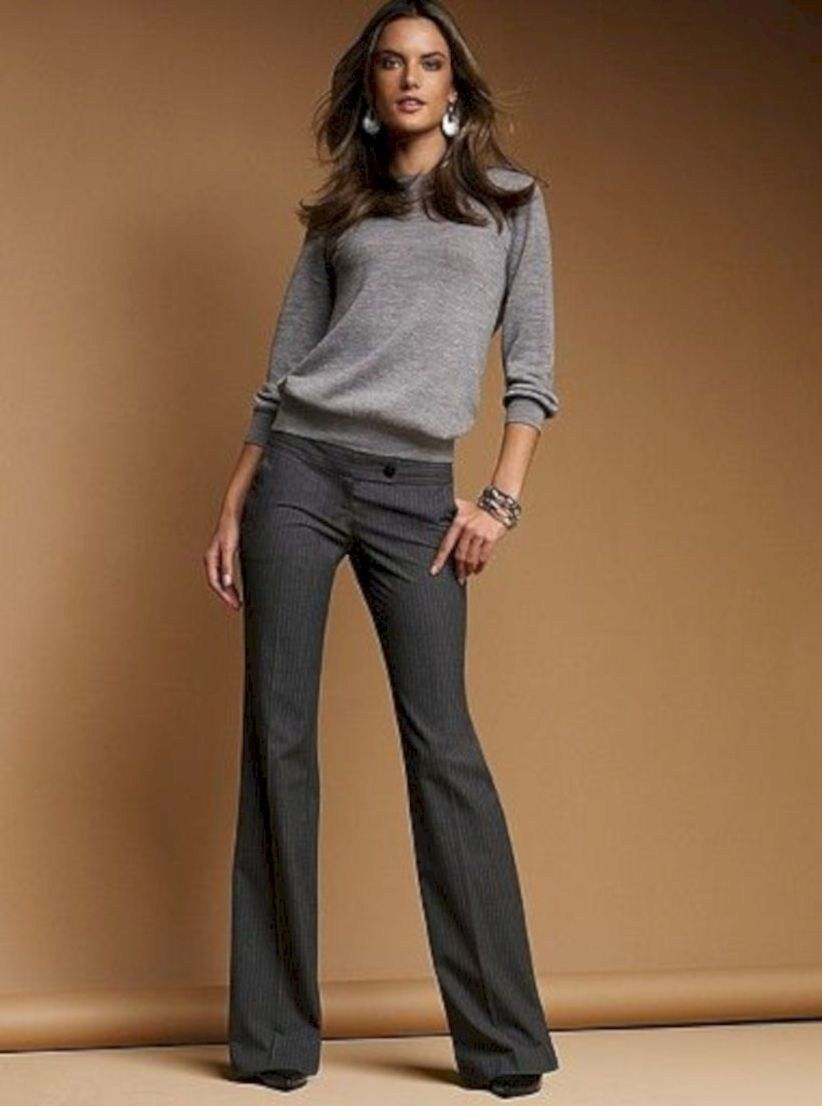 002361b5e571 35 Amazing Casual Winter Work Outfits Ideas | Wardrobe | Winter ...