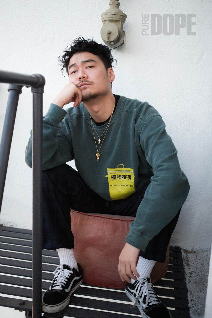 Not absolutely Asian hip hop style