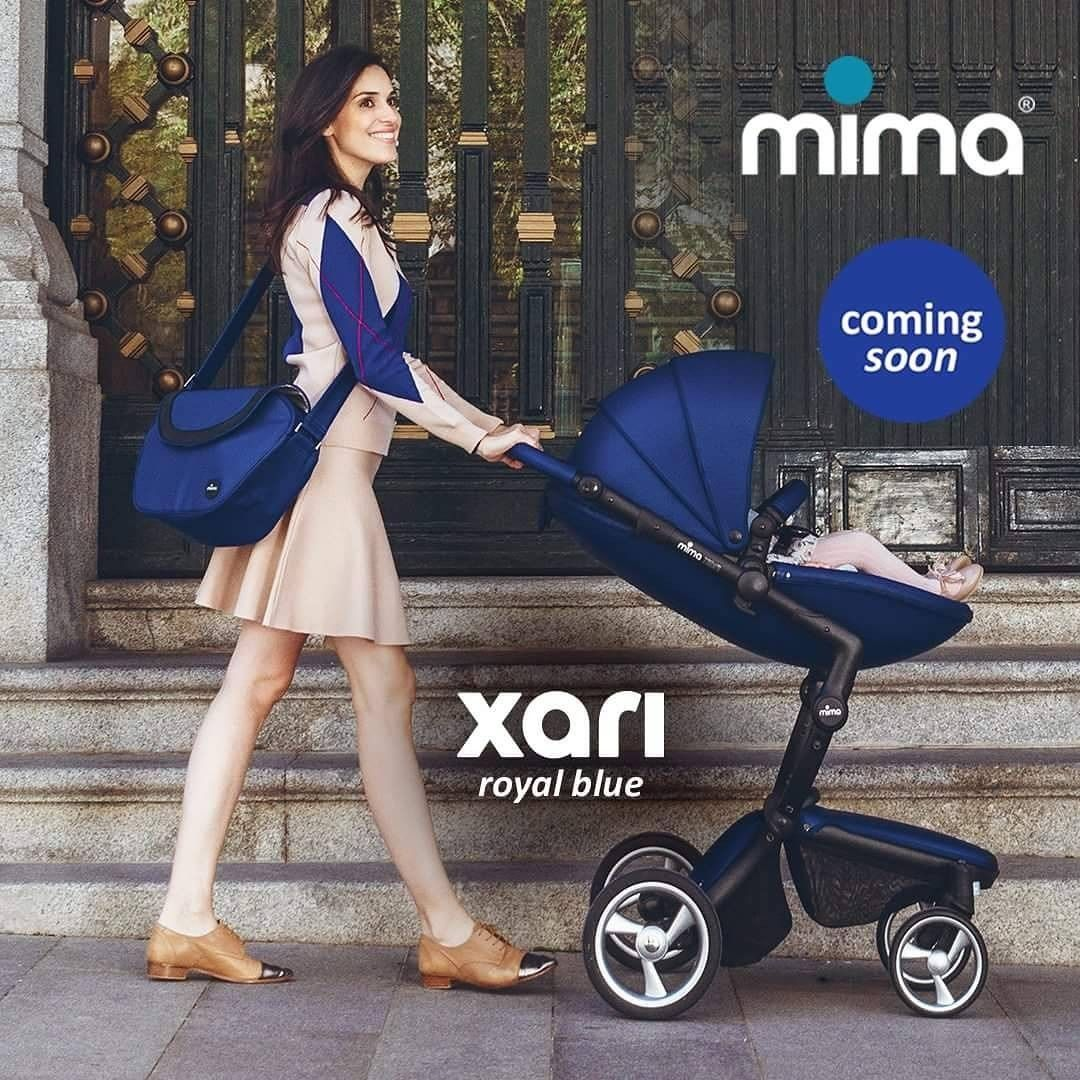 We can't wait to get our brand NEW Mima Xari Royal Blue