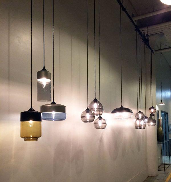 A Visit to Hennepin Made\u0027s Glassblowing Studio Produkte und Wohnen - deckenlampen für badezimmer